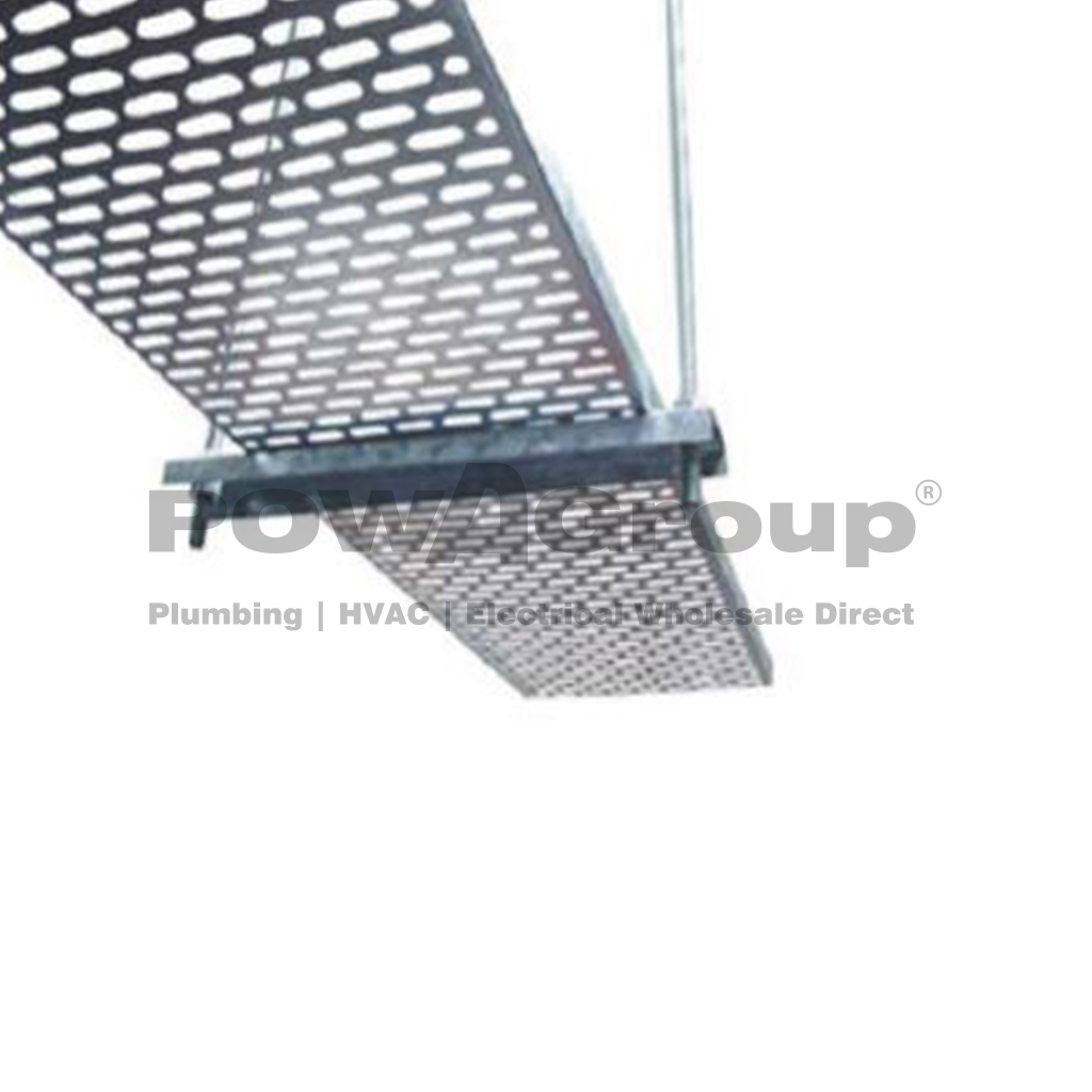 Cable Tray Perforated 450mm x 2.4 Metres Long