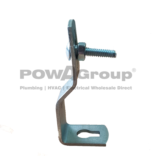 Clevis Hanger PowAFix Multi Clevis M10 with 1/4 Cuphead Bolt & Nut + 2 x M10 Nuts