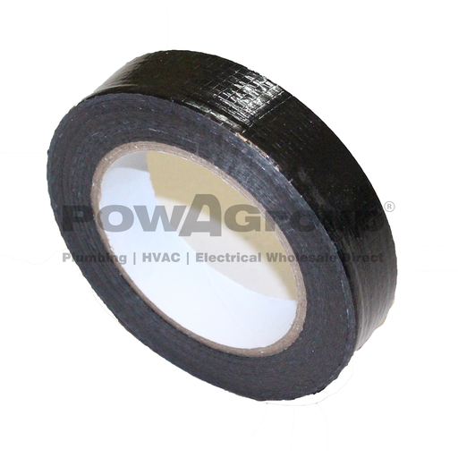 [06DSTRAPB] Duct Strapping Black 25mm x 100m