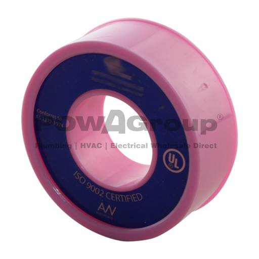 [06TTPINK] Pink Teflon Thread Tape 10m