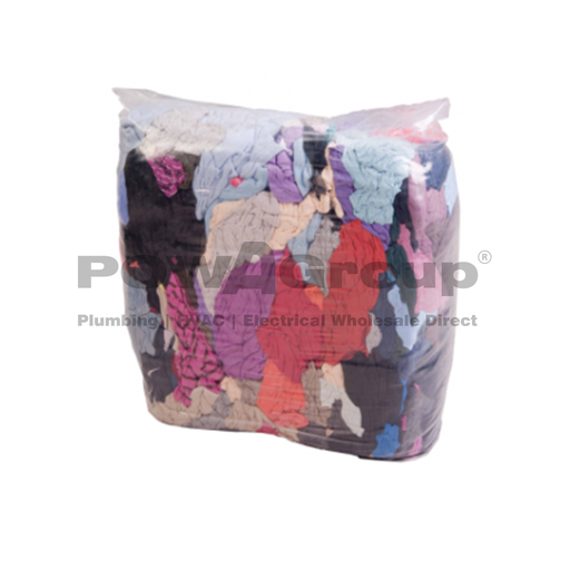[06BAGRAGS] Bag of Rags - 10kg Mixed Cotton