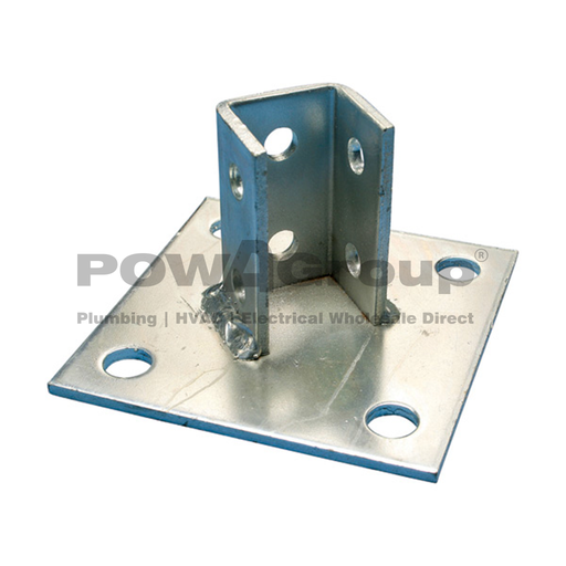 [09BASEPLATE100SS] Base Plate Stainless Steel 150mm x 150mm x 80mm