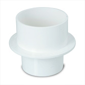 [26DWVSLRP065] PVC Slab Repair - Flanged Socket to Spigot 65mm Slab Adapter - 12937