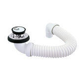 [27FLEXIBKDW44] Flexidinger Bath Kit Deluxe White - 15544