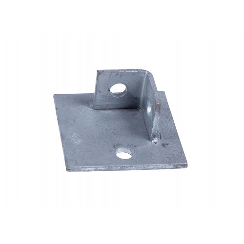 [09BASEPLATE100] Base Plate 100mm x 100mm x 45mm Hot Dipped Galvanised Single Fixing