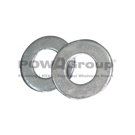 [07AFWAS027] M12 Washer Flat Engineering 4.6 Z/P 24mm OD x 1.6mm Thick