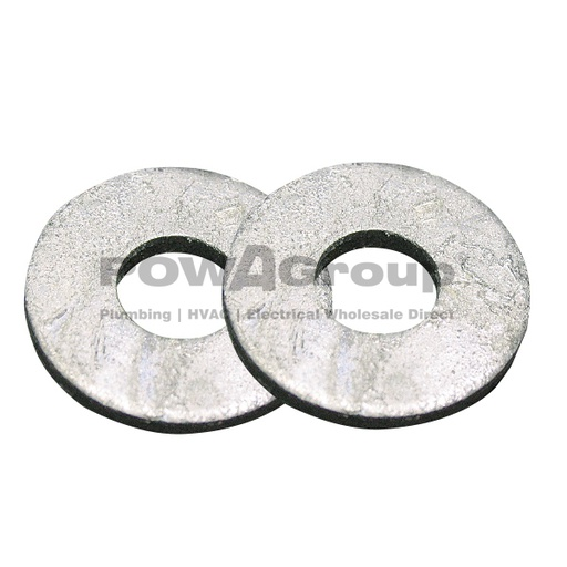 [07AFWASM20G] M20 Washer Flat 4.6 HDG  x 39mm OD X 3mm Thick
