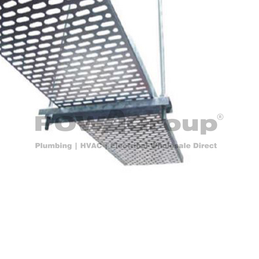 [08PCT225] Cable Tray Perforated 225mm x 2.4 Metres Long
