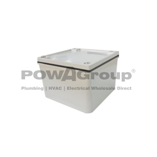 [08CONJBWP101007] IP56 Junction Box 100 x 100 x 75mm W/Proof