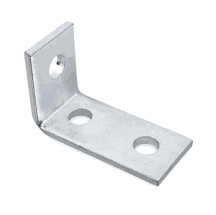 [09CIANG002] Angle Bracket 3 Holes 105mm (2 Holes) x 40mm (1 Hole)