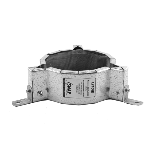 [11RETROSP100LPR] FYA-DEFENCE Floorwaste Retrofit Fire Collar 100mm SNAP LP100R