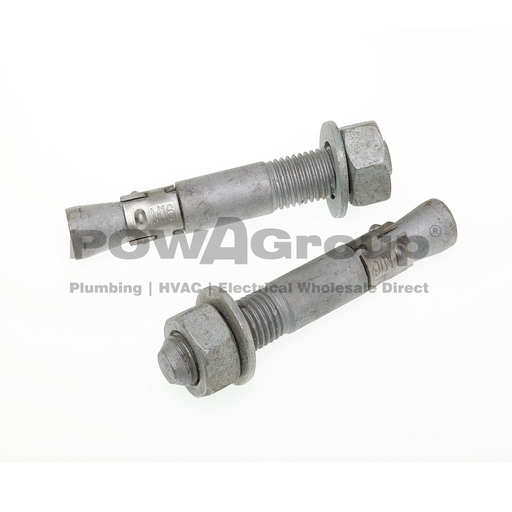 [02ALGTB012] Through Bolt Hot Dipped Galvanised 16mm x 105mm
