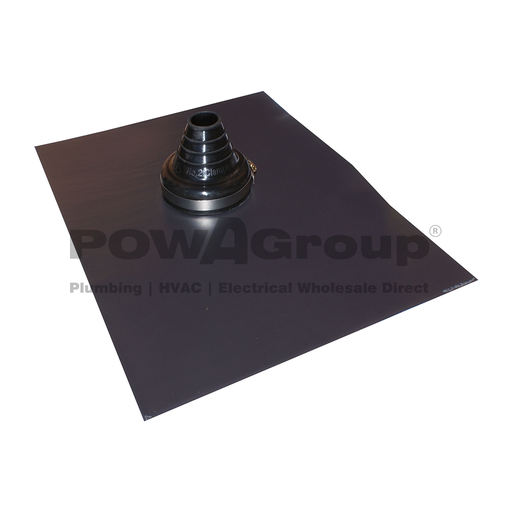 [26AQUAVLB012050] ENVIRO-LEAD VERSATILE 50mm - 90mm (Black EPDM) Suits Roof Pitches Up to 45°
