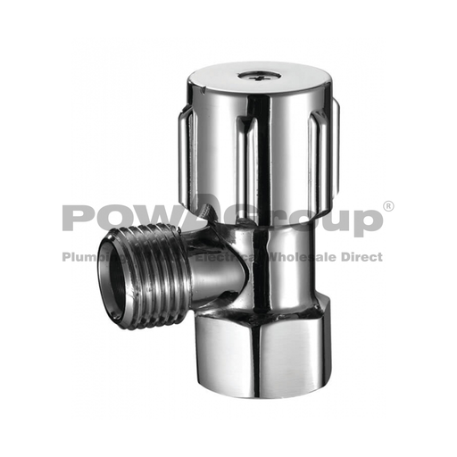 [26VALVEMINID12] PowaValve Standard Valve Type Mini Cistern Cock 15mm with Double O-Ring (Box Qty 100) (TH-73)