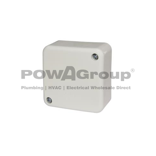 [08CONJBS864WC] Standard Junction Box with Connectors - 70 x 70 x 37mm