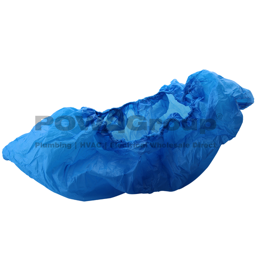 [14DBCOVERB] Disposable Boot Covers - Blue Plastic (Pk 100)