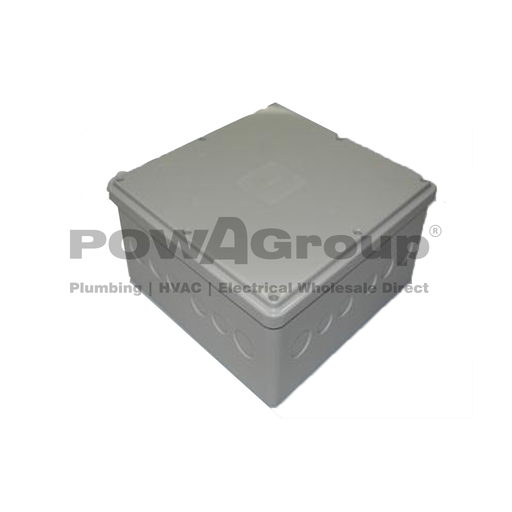 [08CONJBWP222210K] IP68 Junction Box 225 x 225 x 100mm Waterproof